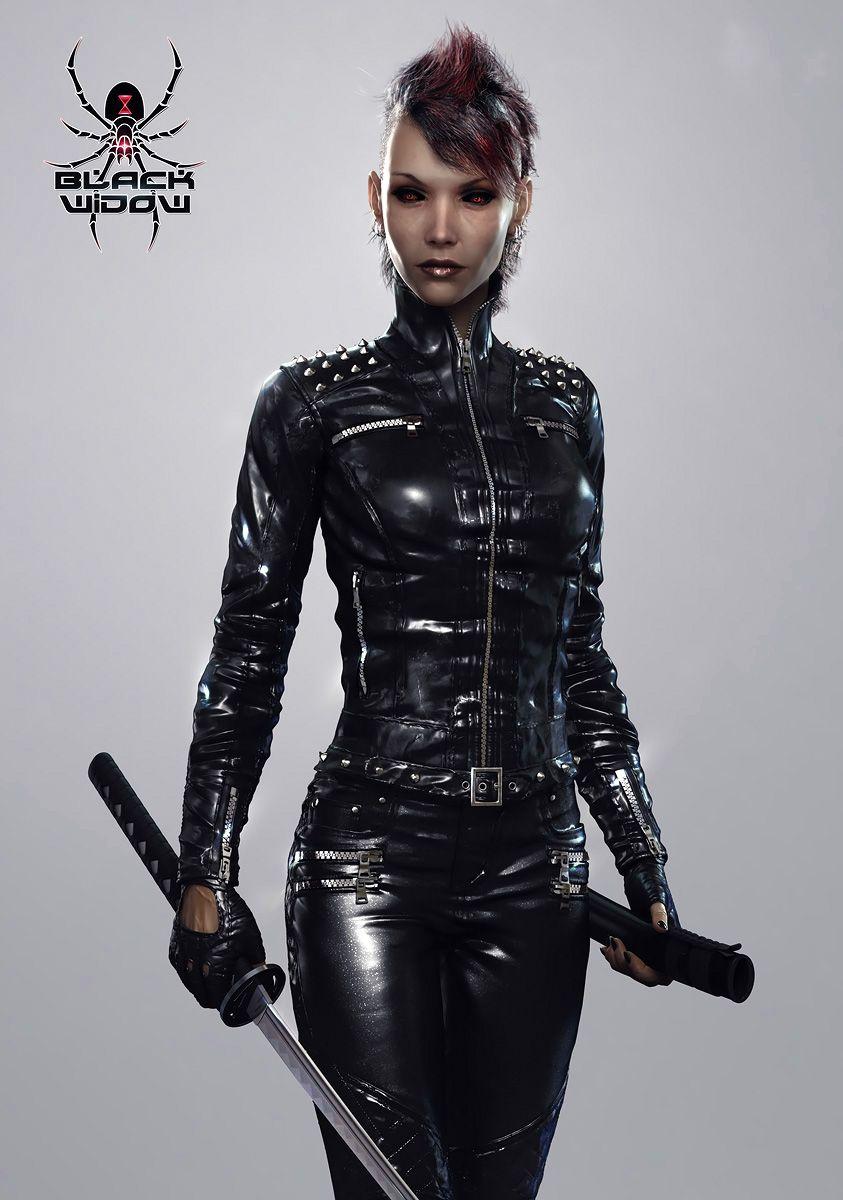 Black Widow by Paulos00 843px X 1200px