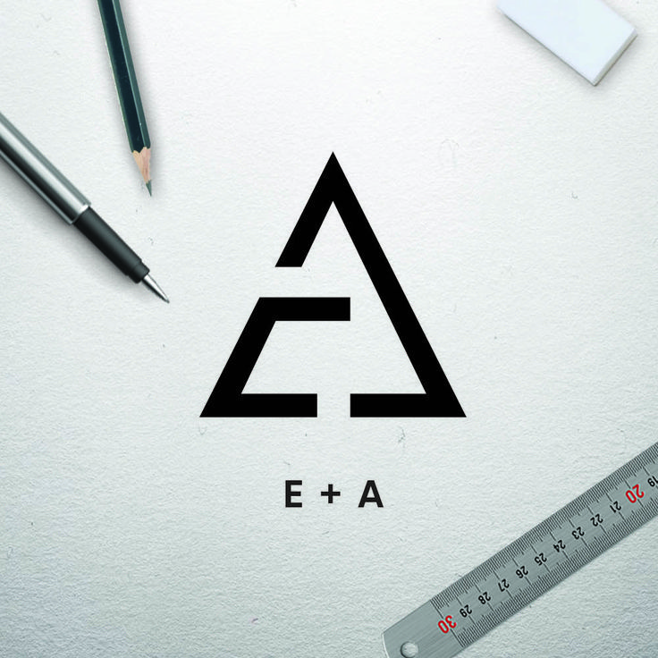 Photo of EA Concrete Logo Design
