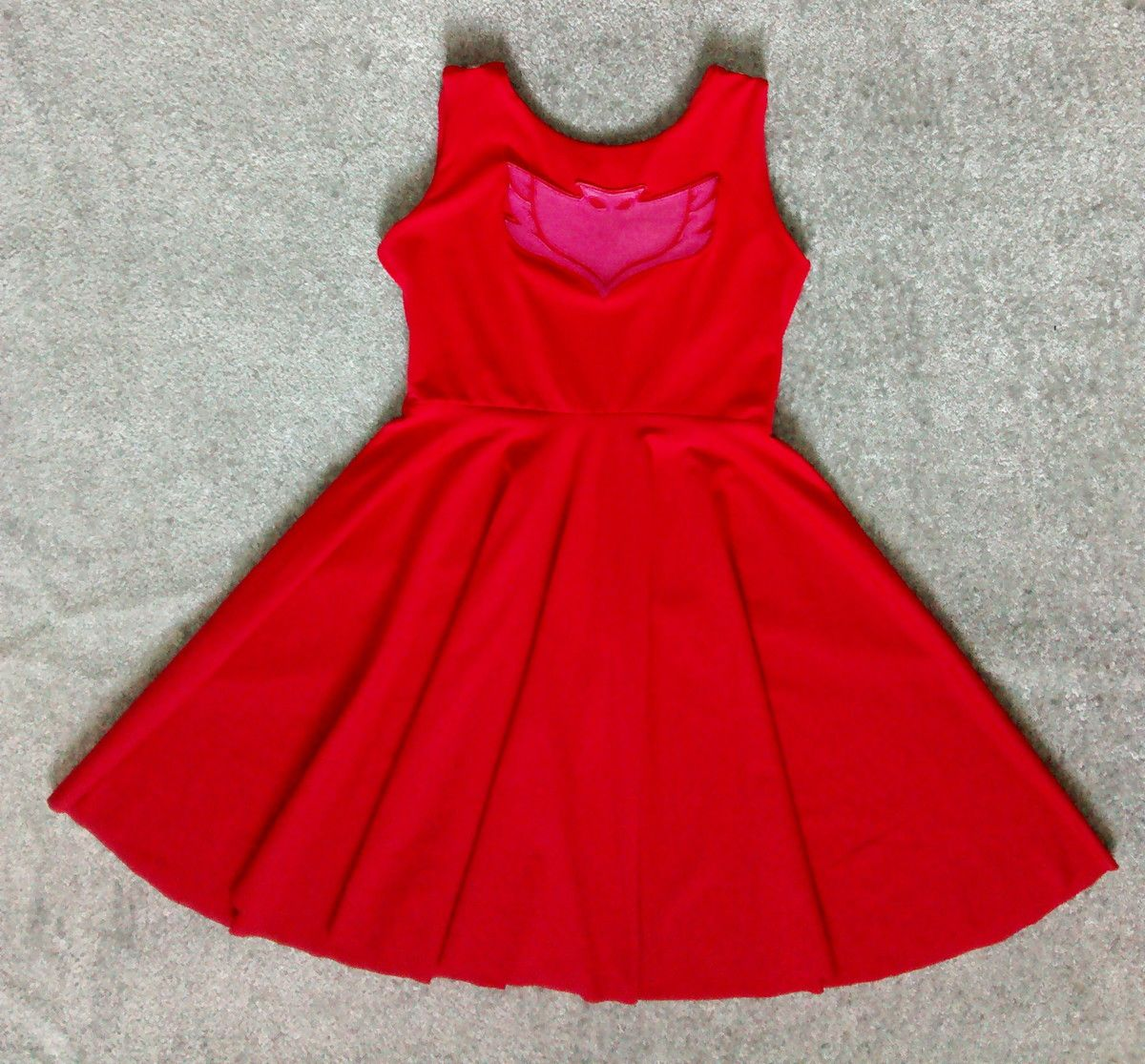 Vestido Corujita PJ Masks Coi Coi Atelier infanti   Hanna s board in ... 03095d0d7cd