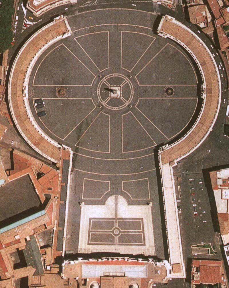 G. Bernini, Piazza San Pietro