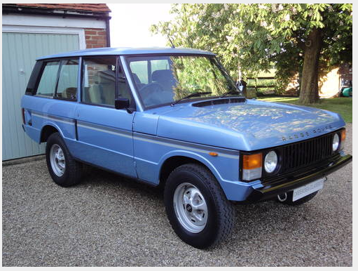 Rare 2 Door Range Rover In Vogue Special Edition Sold 1981 On Car And Classic Uk C447719 Range Rover Range Rover Classic Range Rover Supercharged
