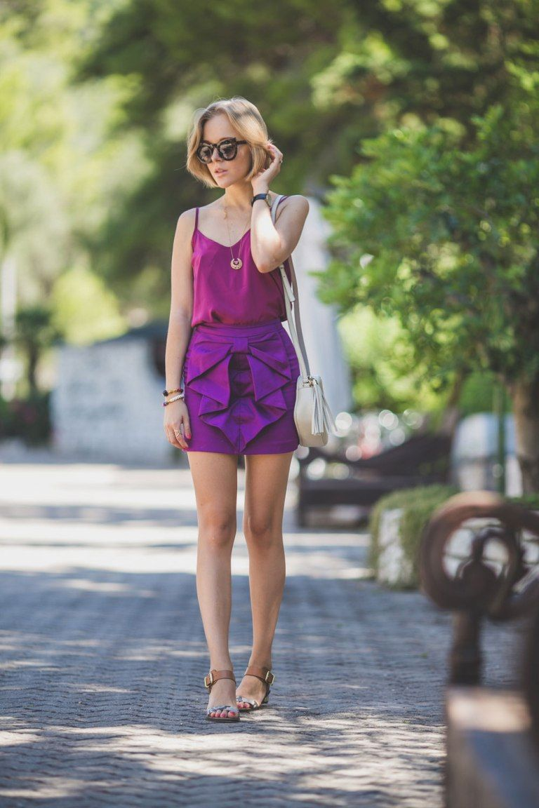 amethyst purple 2017 outfit