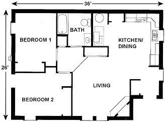 Plan 901 National Affordable Housing Network House Plans New House Plans How To Plan