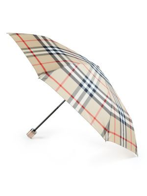37baddb793c9 BURBERRY Trafalgar Checked Packable Umbrella.  burberry  umbrella ...