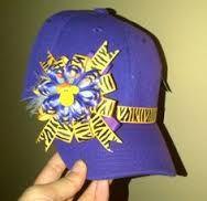 Resultado de imagen para gorras decoradas con cinta
