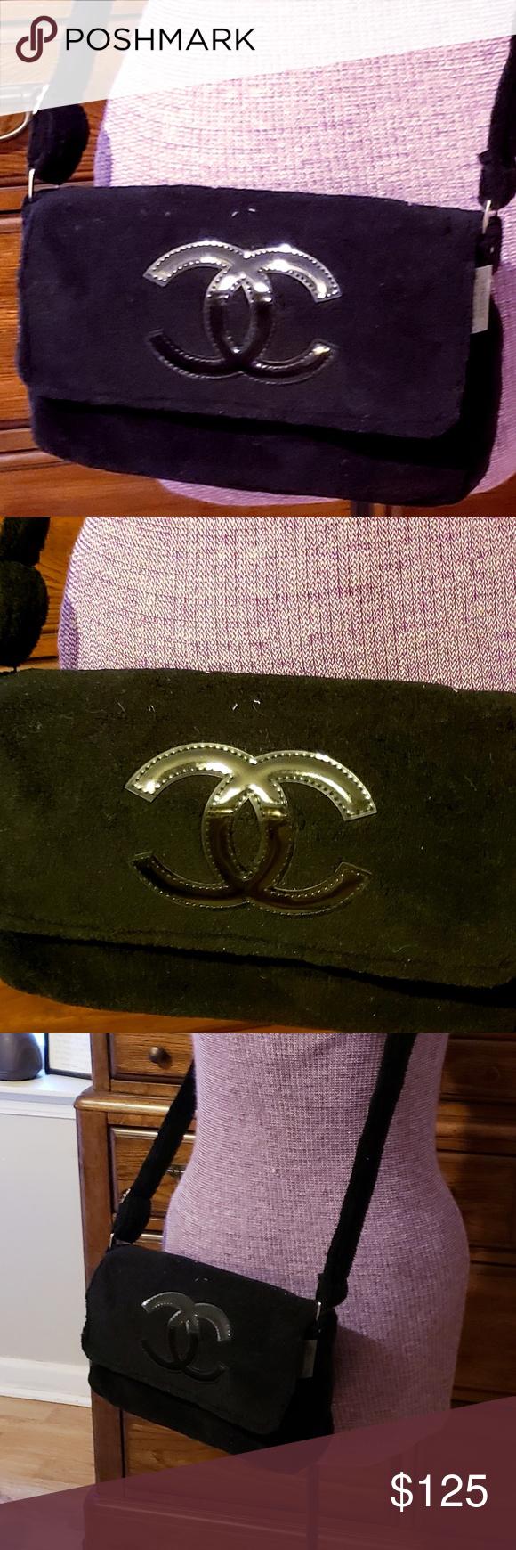 d823df18f12f Chanel Precision VIP Cross-Body Shoulder Bag Brand New Authentic CHANEL  Precision VIP Gift Black