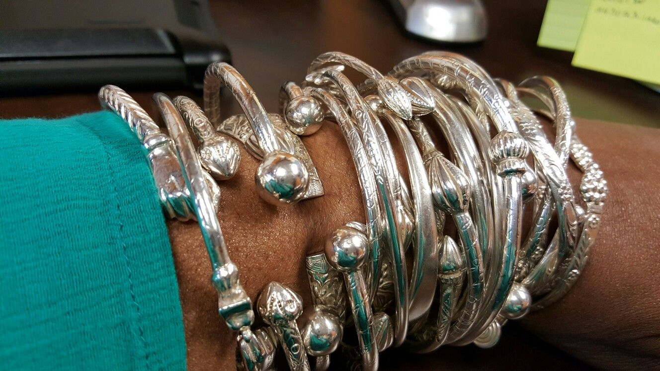 West Indian Bangle Collection Sterling 925 Styles