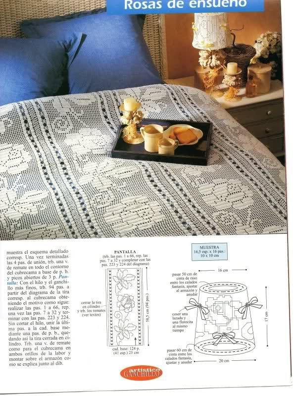 Varios patrones para realizar UN MANTEL a crochet | crochet ...