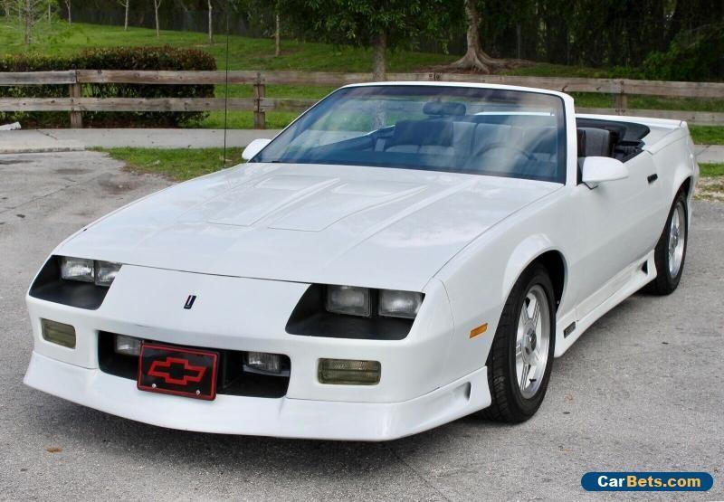 Car for Sale 1991 Chevrolet Camaro Chevrolet camaro