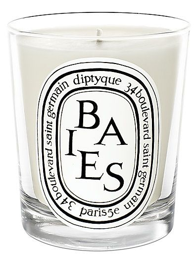 Diptyque - Baies Candle.  Yes, there's sticker shock with these, but they are amazing candles for candle crazies such as myself!