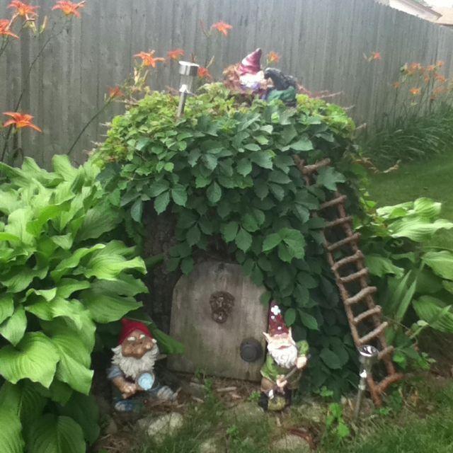 Gnome In Garden: Amazing Design Ideas Gnome Gardens Stunning 78 Best Ideas