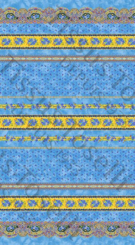 Marat D Avignon Richly Patterned Traditional Provence Design In