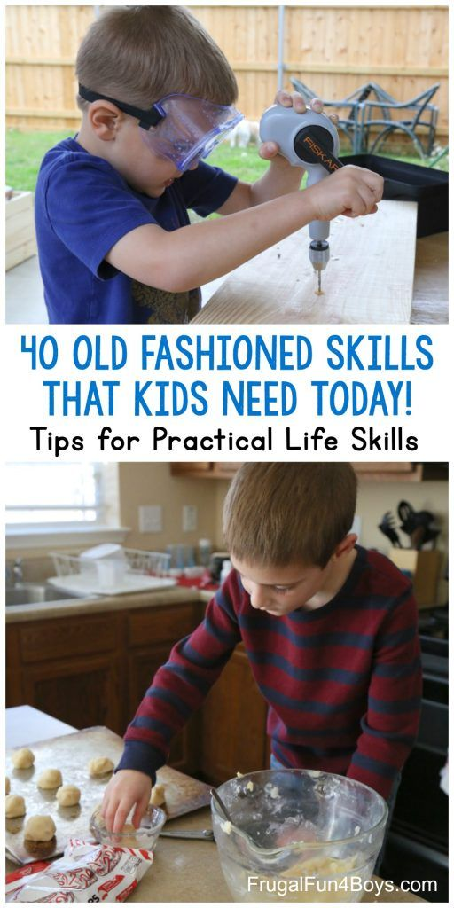 40 OldFashioned Skills that Kids Need to Know TODAY is part of Confidence kids, Kids and parenting, Fashion skills, Smart parenting, Practical life, Parenting hacks - Our world has gone digital, but there are so many analog life skills that our kids still NEED! It's no secret that life has changed in the past 25 years  When I was in high school, we didn't have internet either at home or at school  No one owned a cell phone, except for wealthy …