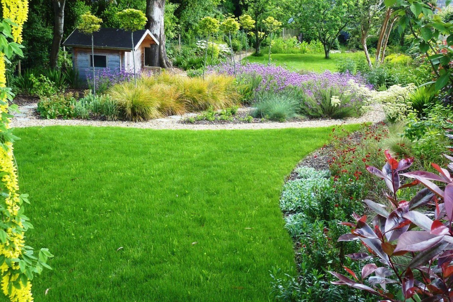 Enticing Family Garden In Greystones Co Wicklow Tim Cheap Wall Decor Suggestions For Sweet Houses In 2020 Garden Design Plans Garden Projects Amazing Gardens