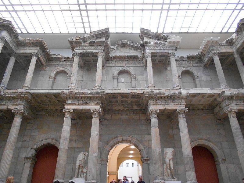 Market Gate Of Miletus Pergamon Museum Berlin Pergamon Museum Pergamon Roman Architecture