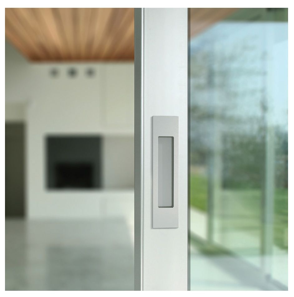 Flush pull set by mardeco international limited door for Pocket screens sliding doors