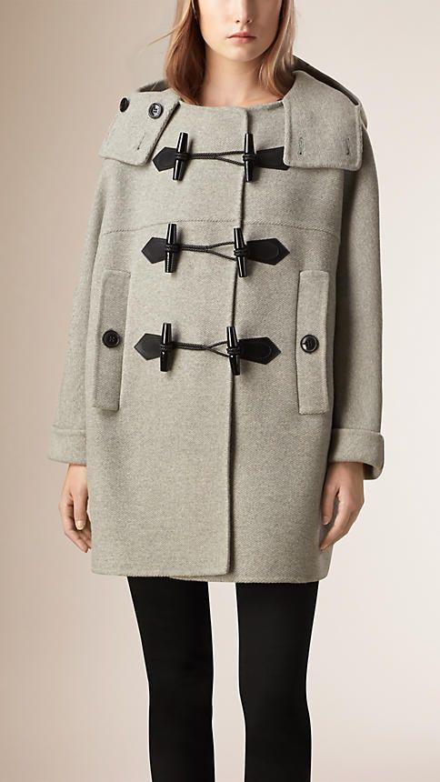 Mantel Und Jacken Fur Damen Burberry Dufflecoat Kaschmir Mantel Und Burberry Coat
