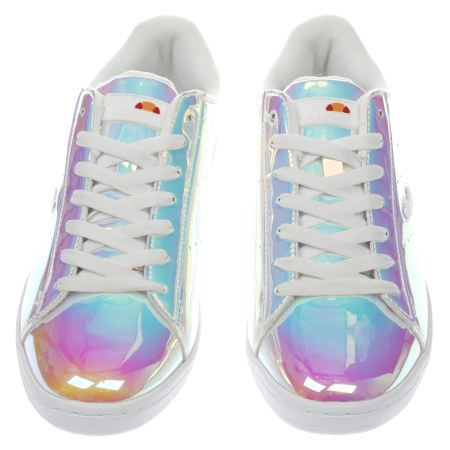 womens ellesse silver anzia trainers