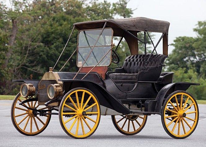 1910 Schacht Model K Runabout – (Schacht Motor Car Co. Cincinnati, Ohio 1905-191…