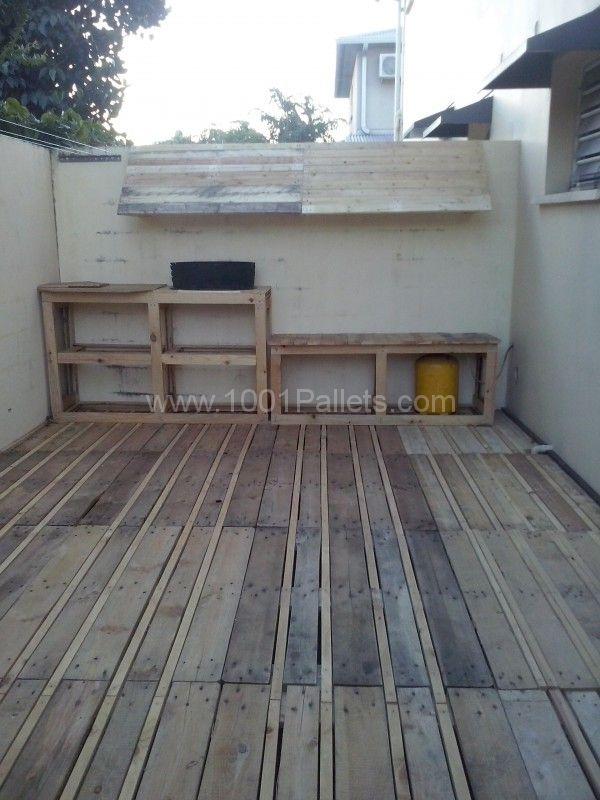 Terrasse / Pallets Terrace | 1001 Pallets