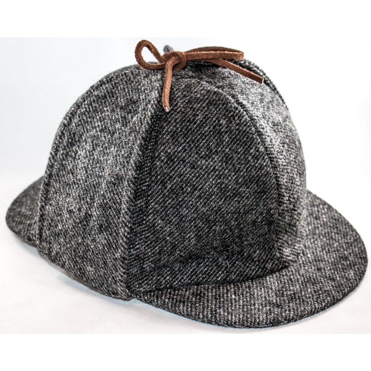 "5a83e856471 Deerstalker Hat  Grey Tweed - ""Put the hat on!"" According to Dr ..."