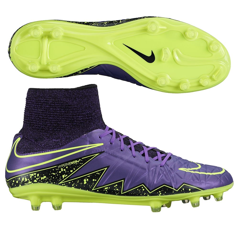 df811f1bc Nike Hypervenom Phatal II DF FG Soccer Cleats (Hyper Grape/Black ...