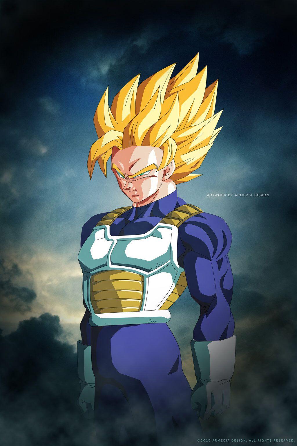 Dragon Ball Z Goku Super Saiyan 2 By Altobello02 On