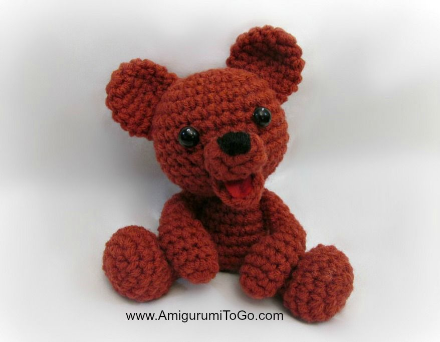 Amigurumi Teddy Bear - FREE Crochet Pattern / Tutorial | crochet 36 ...