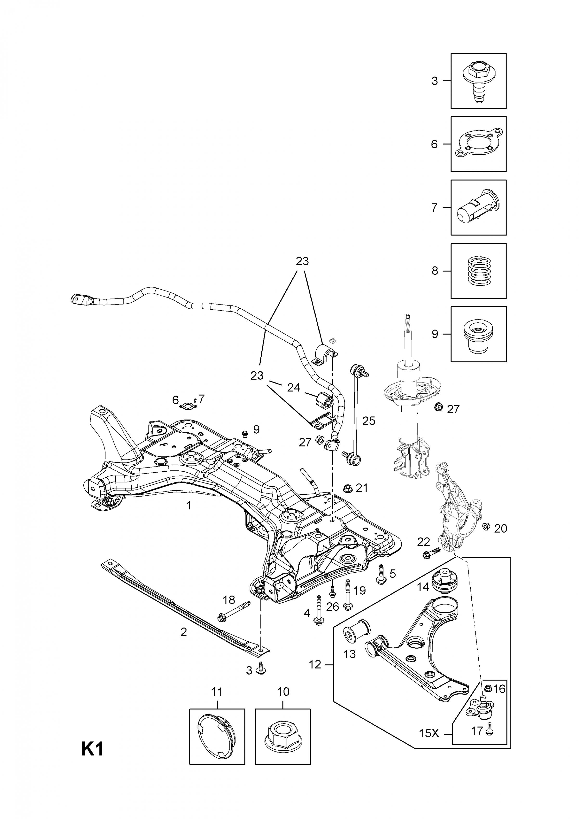 Vauxhall Corsa D Engine Bay Diagram