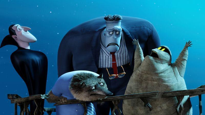 Monstry Na Kanikulah 2 Luchshie Multfilmy 2015 Kevin Dzhejms Frankenshtejn Hotel Transylvania 2 Best Animation Movi Otel Transilvaniya Multfilmy Animaciya