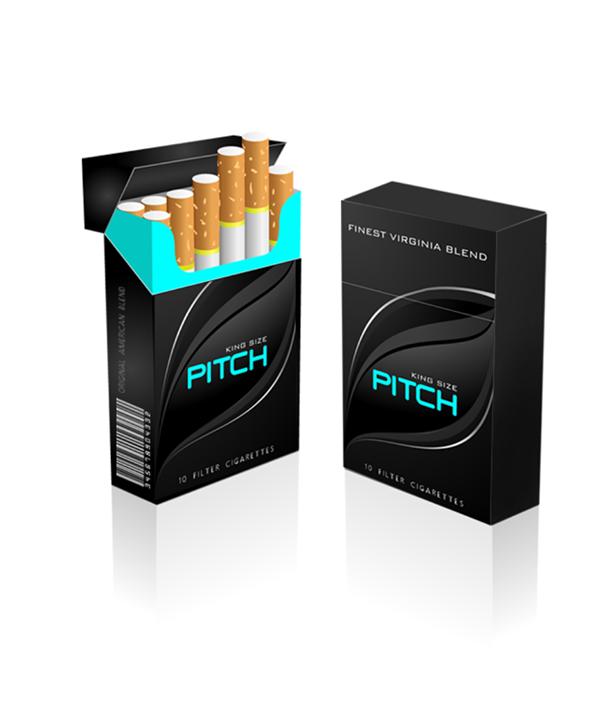 Cigarettes Pack Design On Behance Rokok