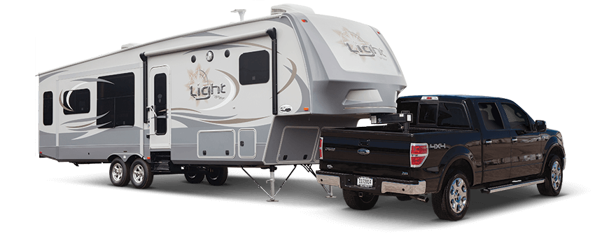 Tight fits are no match for our Light fifth wheels. Our