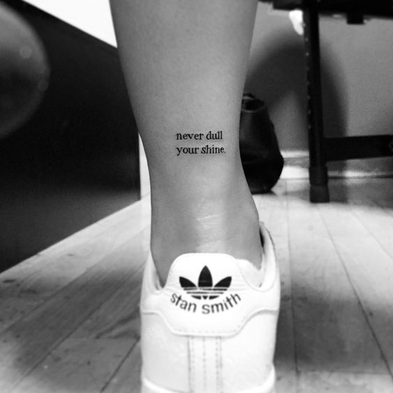 Photo of 40 Small Elegant Ankle Tattoos for Women To Be Inspired  JimIamy   40 Small