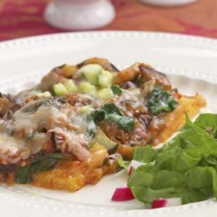 Baked Polenta Casserole - absolutely amazing!