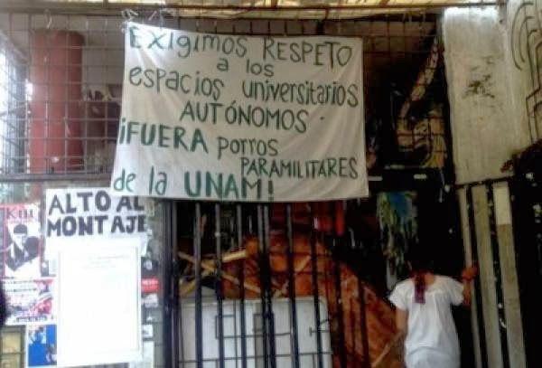ALERTA: AGRESIÓN Y DEFENSA EN EL AUDITORIO AUTÓNOMO CHE GUEVARA