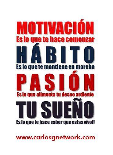 Tu puedes lograr tus sueños!! Aquí tienes la oportunidad, todo depende de ti! www.carlosgnetwork.com