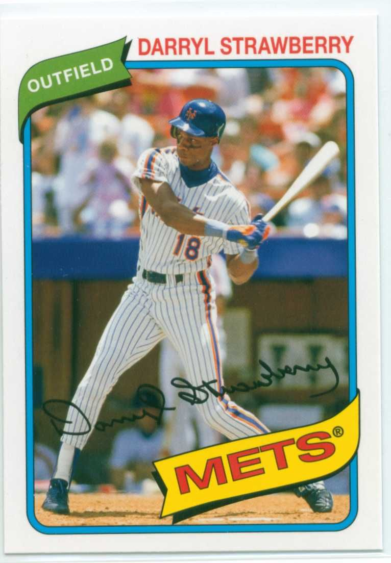 Topps Baseball Cards Darryl Strawberry Google Search Baseball Cards Baseball Mets Baseball