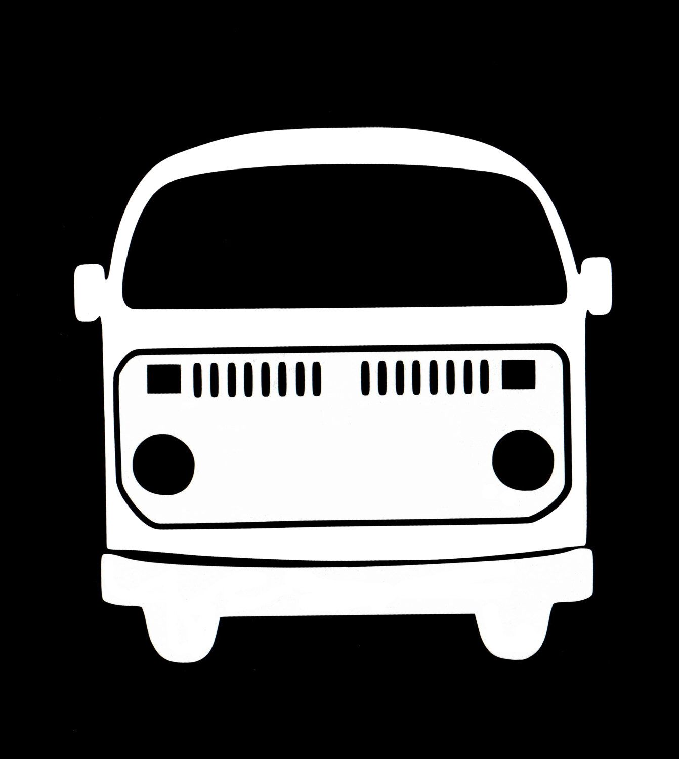 Volkswagen Vw Bus Type 2 Vinyl Decal Sticker By Thestickermaker On Etsy Https Www Etsy Com Listing 490001750 V Vinyl Decal Stickers White Stickers Volkswagen