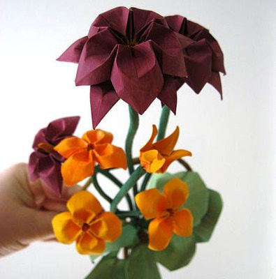 7 Pretty Origami Flowers You Can Learn To Fold Origami Inspiration