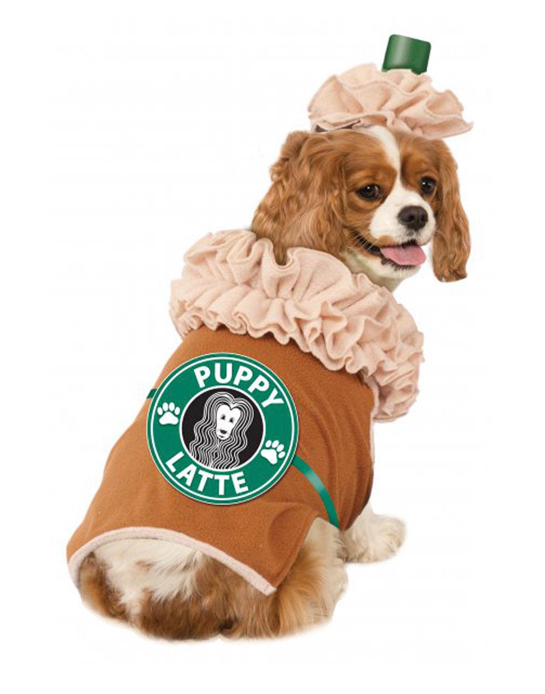 12 92 Pet Costume Puppy Latte Starbucks Frappuccino Dog Cat