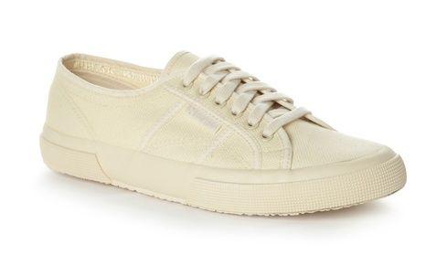 Superga 2750 Cotu Classic Total Ecru Staple Shoes Trainers Fashion Superga