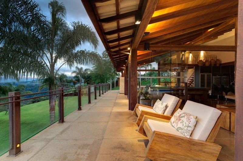 Hermosa casa de campo donde incluimos diseño de interiores y planos ...