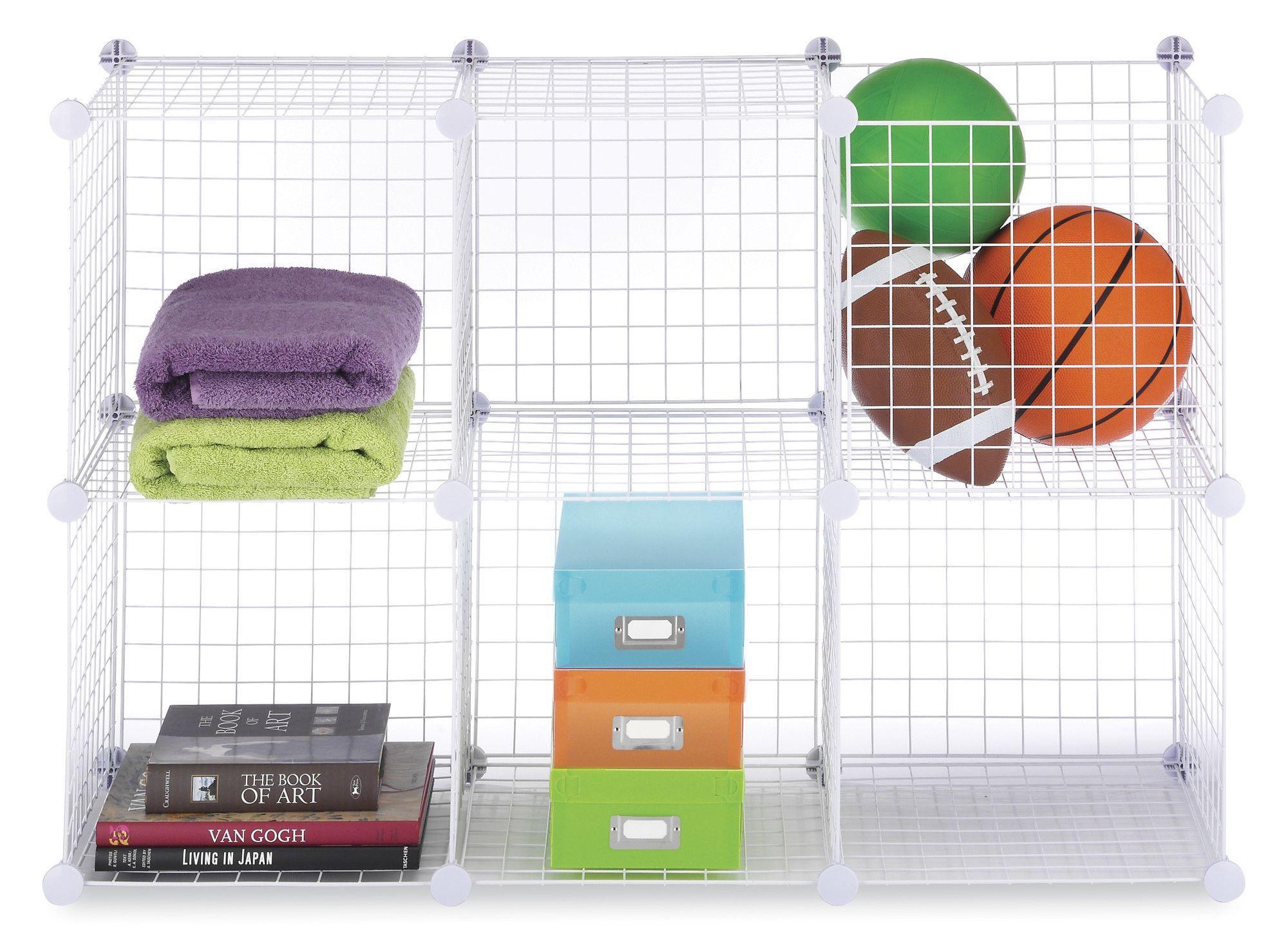 Wire Storage Cube (Set of 2) | Products | Pinterest | Wire storage ...