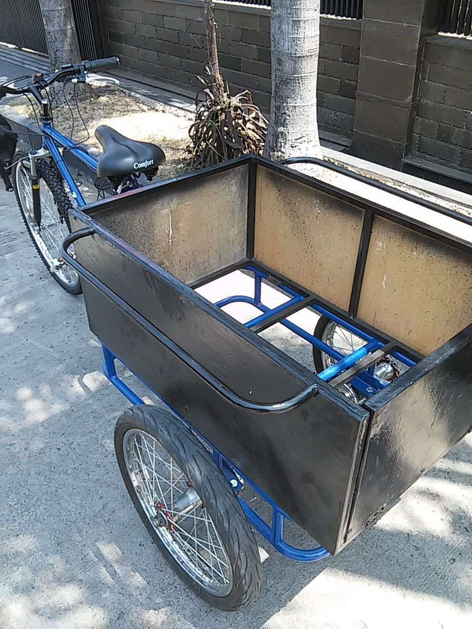 trike kit with electric power and human (Dengan gambar