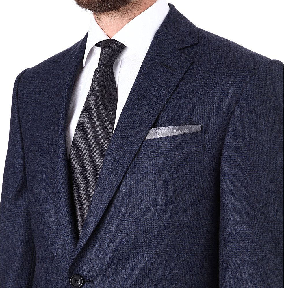 041a64aa51b4 Richard James Glen Check Wool Suit in Blue for Men (Navy)