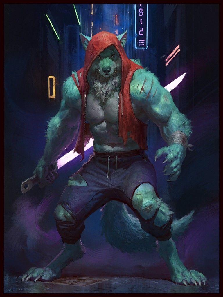 Photo of Werewolf by Taran Fiddler