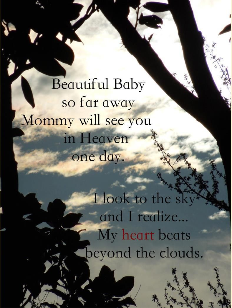 I\'ll see you in heaven my beautiful baby | Angels in heaven ...
