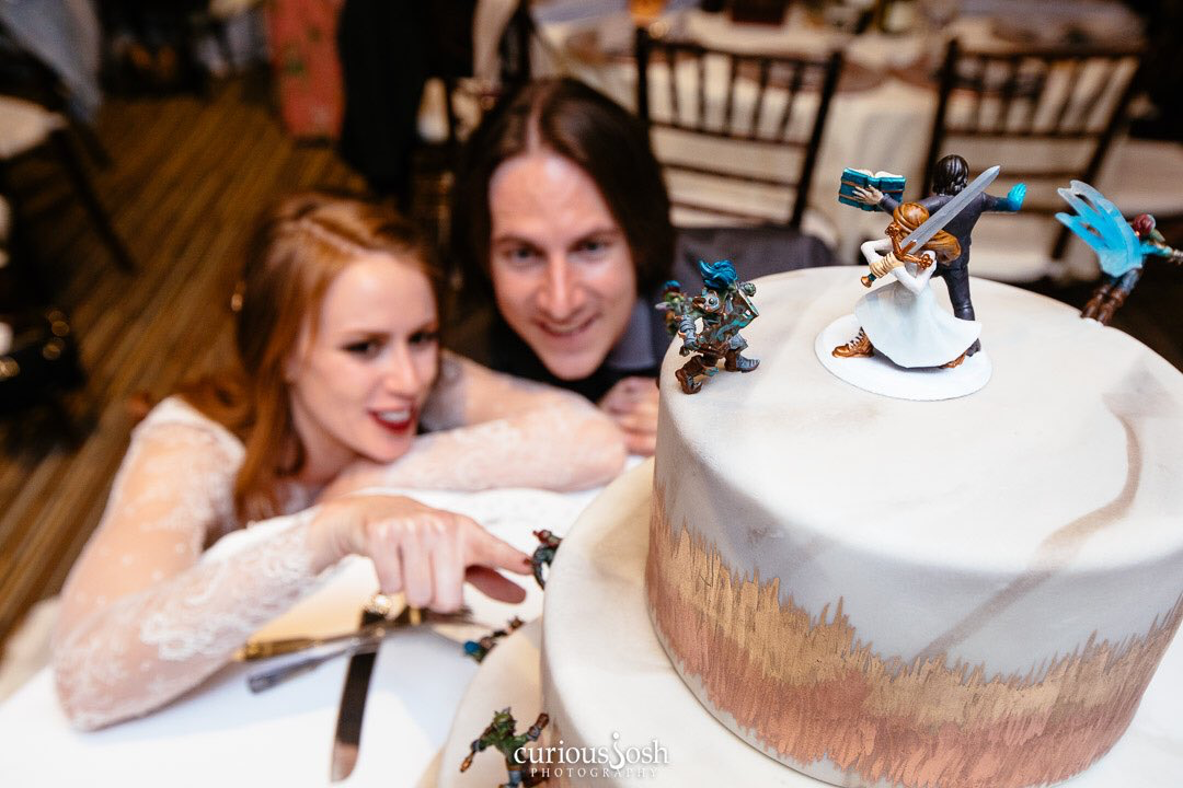 Matt Mercer And Marisha Rays Wedding Cake Critical Role