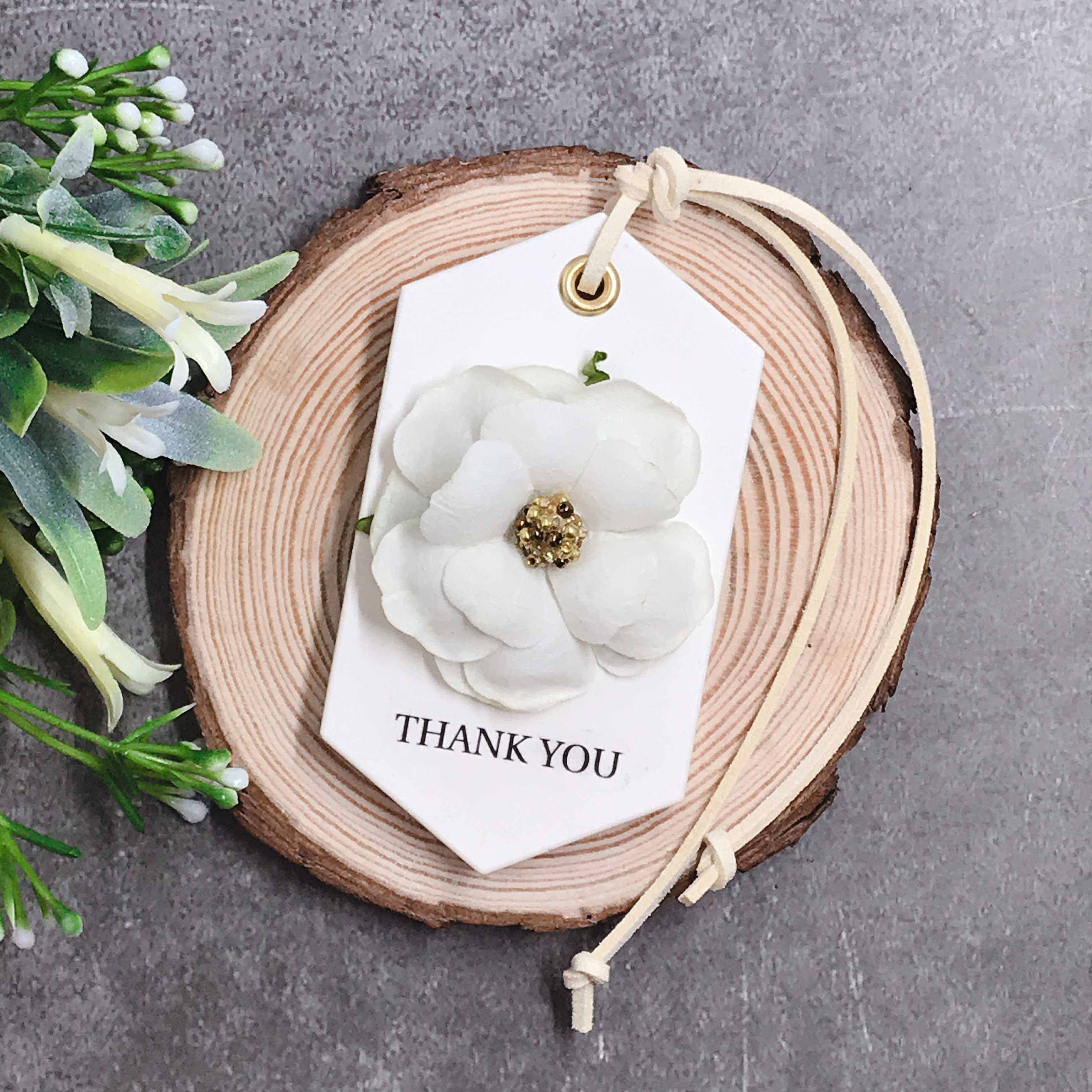 Scented Plaster Tablet Flower A Wedding Favours Bridesmaids Bridal Shower Gifts Wedding Gifts