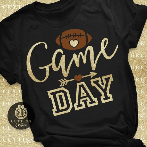 Football Svg Game Day Svg Football Game Svg Fall S